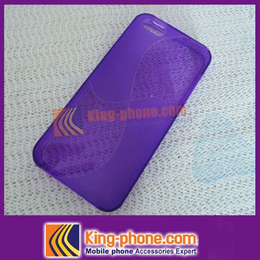 Super Soft TPU Protective Phone Case For iPhone5