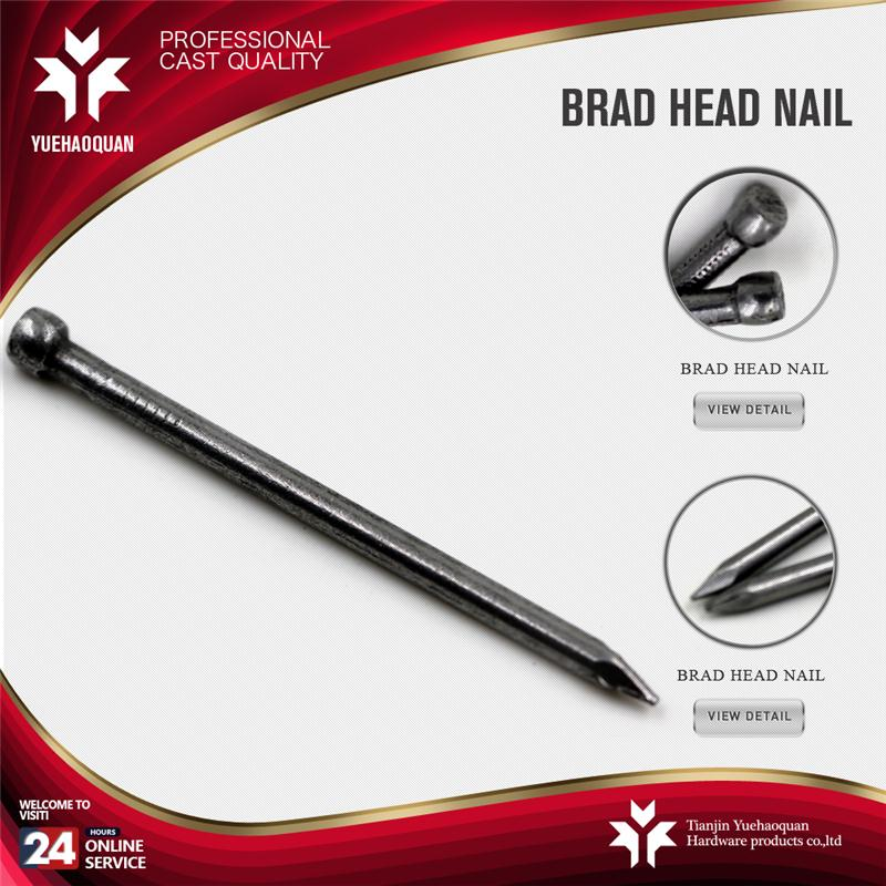 Hot selling common headless nail nail brad made in China