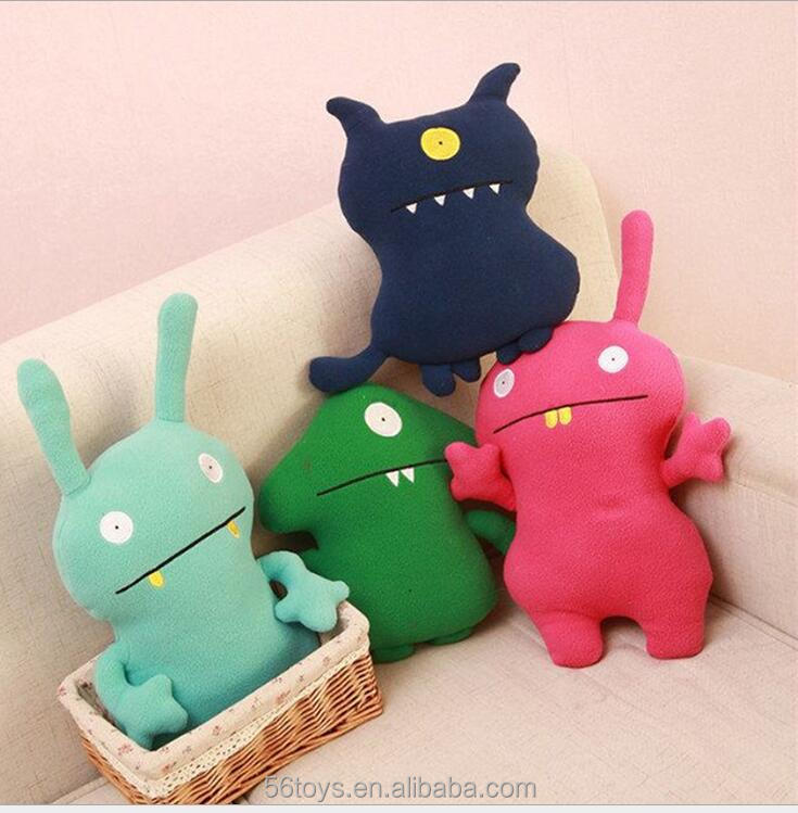 best sell free shipping pillow korean ugly doll toys for children