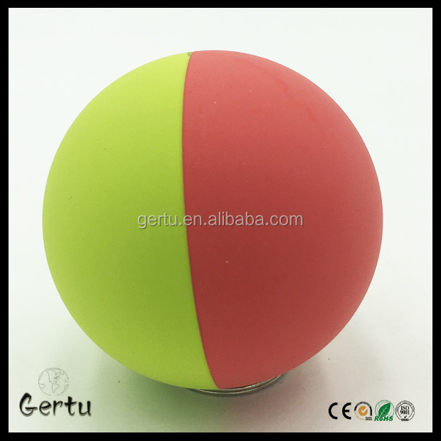60mm High bounce rubber squash ball