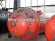 jacketed Stainless steel vessel with Condenser and Pump