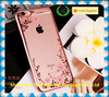 whole sale Electroplating TPU flower pattern Mobile Phone Case mobile phone accessories case for Iphone 6 Case 4.7 and 5.5inch
