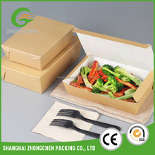 "10"" Foam take away fast food packaging box for restaurant"