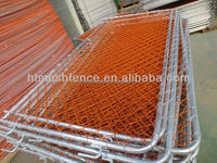 PVC-coated Temporary Chain Link Fence Panel