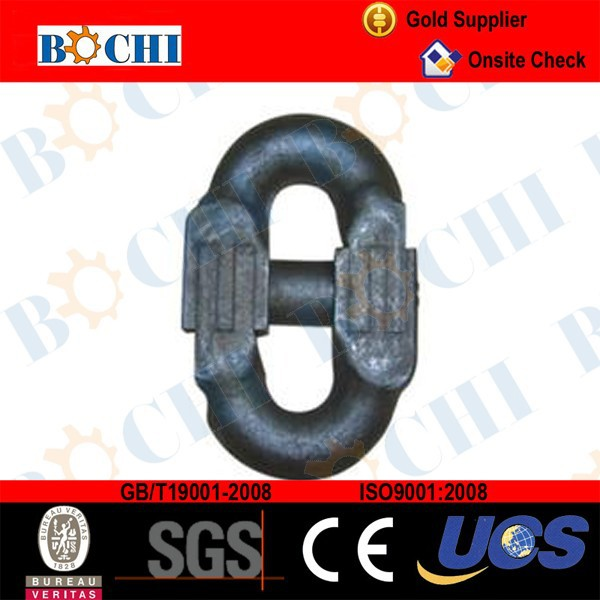 14mm Galvanized Connecting Link For Hatch Cover Chain