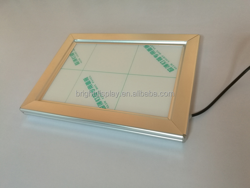 A4,A3,A2,A1,<strong>A0</strong> Size <strong>LED</strong> Snap <strong>Frame</strong> Slim Light Box