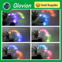 Full of dream light up gloves multicolor flashing gloves led magic gloves