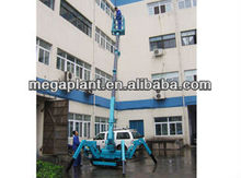 High capacity track 1t small crane