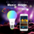 Zengge 4.5w RGB+warm white wifi bulb color change smart phone control E26 E27