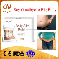Chinese new natural herbal lose weight mangnetic belly slim patch