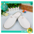 Polyester Velvet Pile Hotel Slippers / Disposable Velour Eco-friendly EVA Guest Slippers / Fashion Custom Terry Salon Slippers