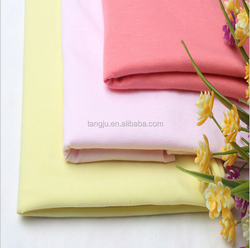 Free sample OEM Home Textile 40s Rayonl plain spandex knit single jersey lycra wholesale cheap viscose fabric