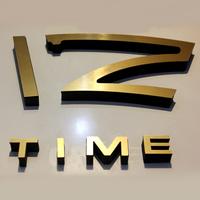 2016 Guangzhou Metal Movement Wall Clock Modern DIY EVA Gold Mirror Wall Clock For Home Decoration