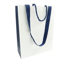 100% new material folded cheap paper shopping bags