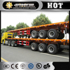 40t semi truck trailer dropside/sidewall semi trailer for variety transport purpose