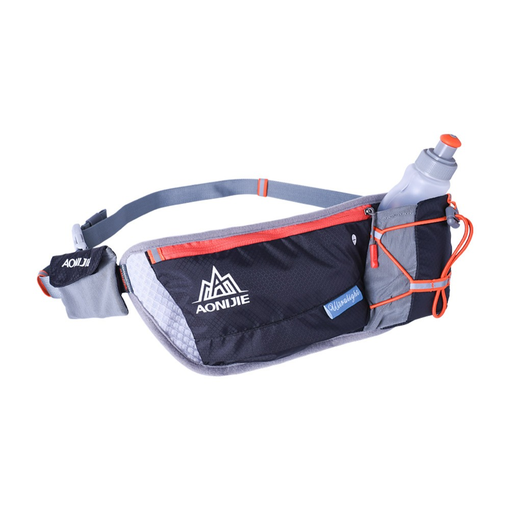 China hot sale outdoor sport running cycling water bottle holder waist bag for drinking