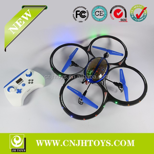 LS-122 New Product 2.4G 4CH 6-Axis RC UFO With Light RC Quadcopter For Sale