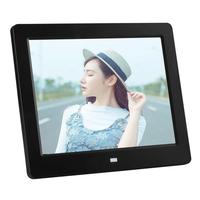 Factory wholesales 8 inch wall mount digital photo frame