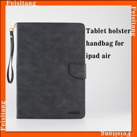 Factory direct sale PU leather wallet tablet protective case for ipad air