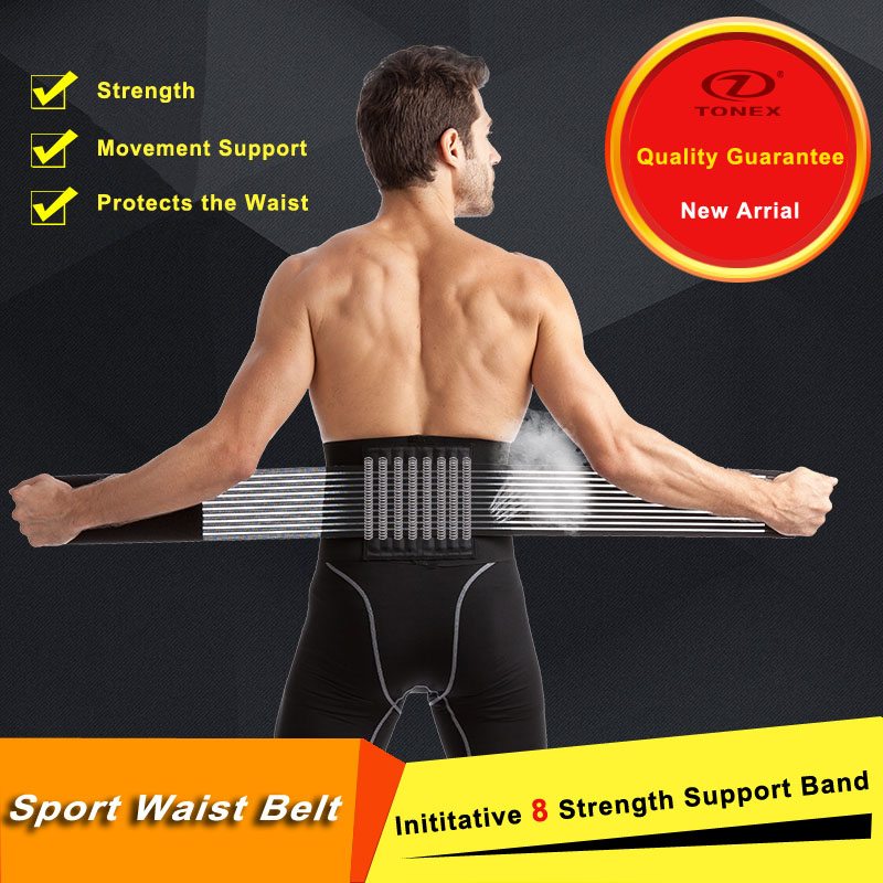 Mutifunctional exclusive initiate eight strength waist belt