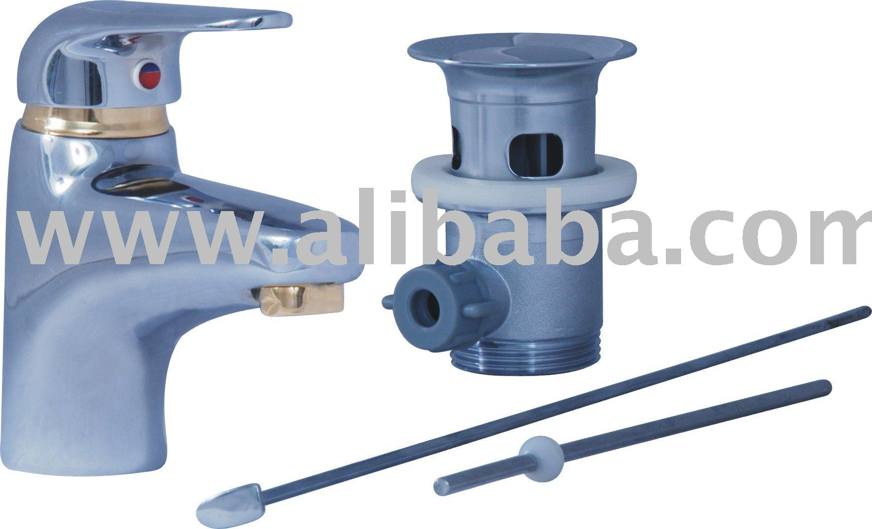 ONE HOLE WASH BASIN MIXER LEVER TYPE WITH POP-UP WASTE COM