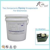 High temperature resistant A/B epoxy resin RTV potting adhesive