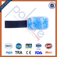 Nylon Reusable Blue Cool Gel Hot Cold Pack For wrist and ankle
