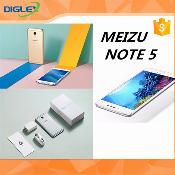 Original New arrival meizu note 5 Flyme OS based on Android OS 16GB/32GBHelio P10 cellphone