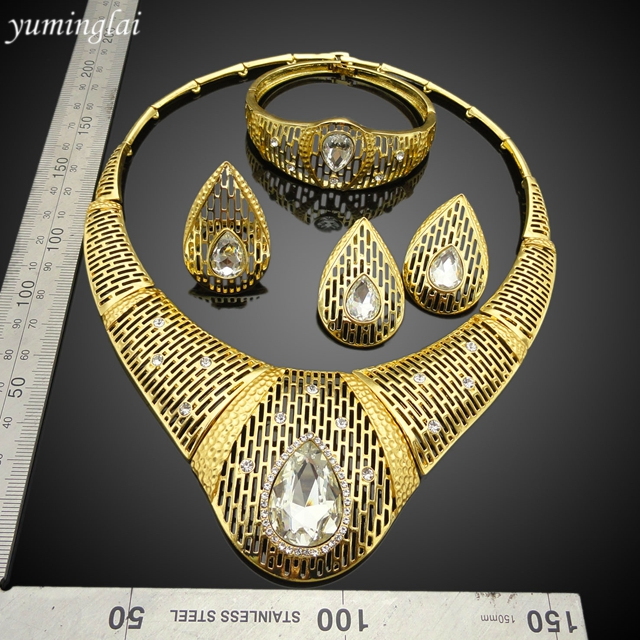 New model Fashion Jewelry Sets Luxury Alloy Jewelry Set