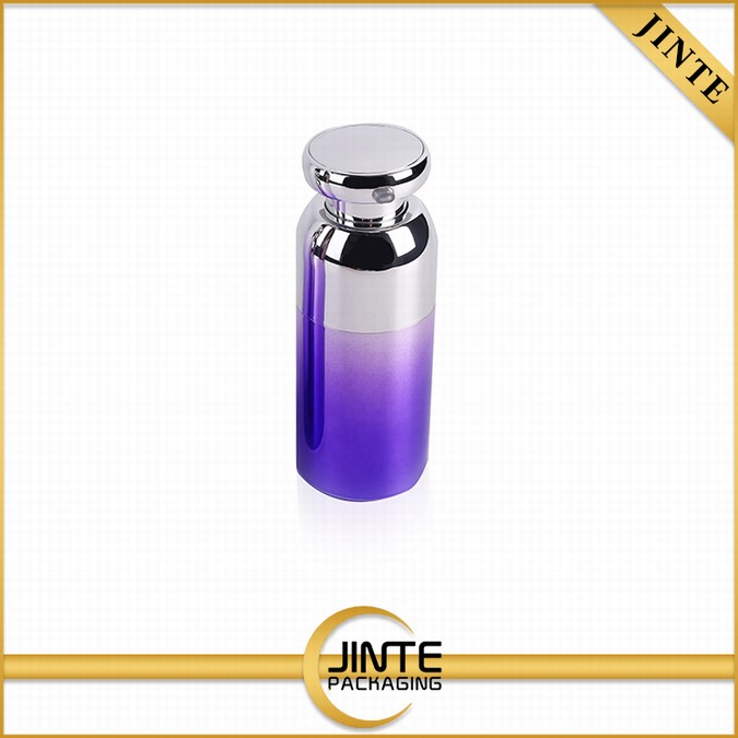 China Supplier r Home-use empty purple plastic bottle lotion container for Skin Care Products Using