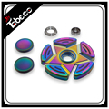 Luminous glow in the dark EDC tool spinner fidget toy with fast delivery