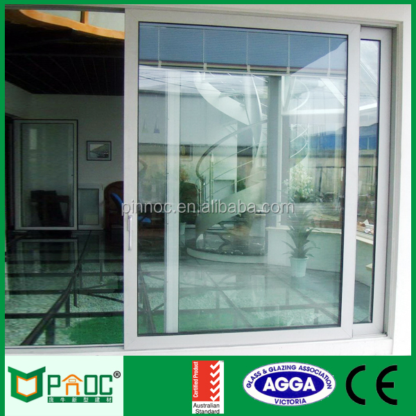 Triple glass aluminum lift sliding door with German high quality accessories