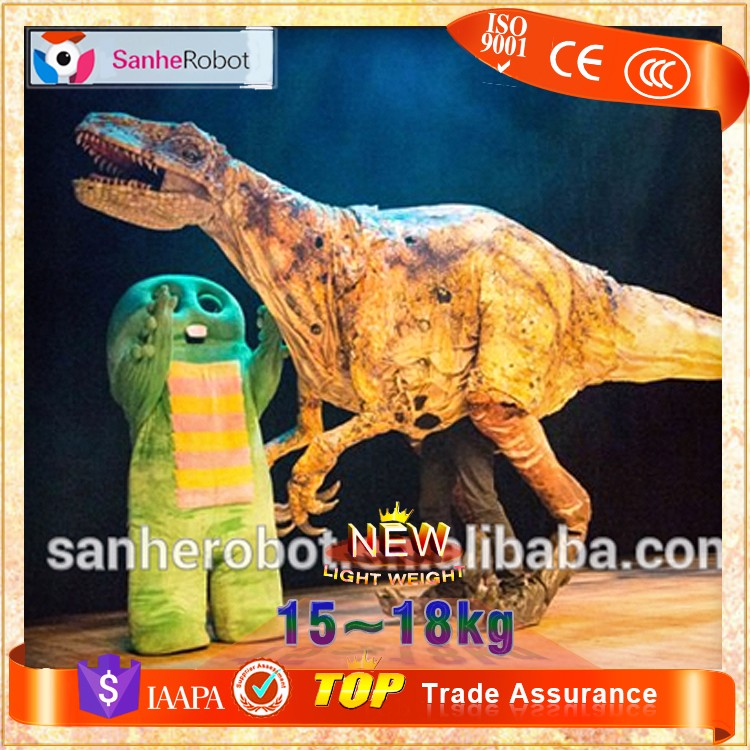 2016 funny professional dinosaur costume inflatable