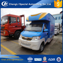 CLW brand karry mini stainless steel food truck, truck shop mobile, mobile juice van