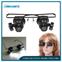 Low vision aids magnifier ,h0t119 portable television head magnifier glasses , watch repair tool