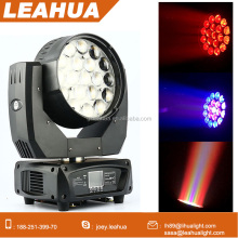 Ring effect mac aura 19pcs moving head zoom led wash beam light