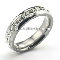 Various hot selling stainless steel funny engagement rings