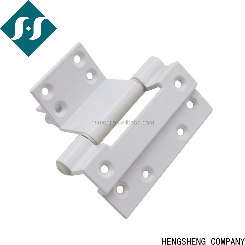 Taxuan aluminum internal fixation PVC windows hinge, white