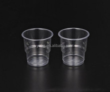 Wholesale 200 ML drinking disposable PP plastic cup
