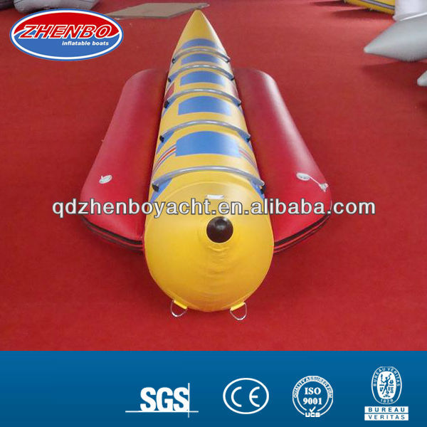 3.8 meters 3 persons Inflatable banana boat