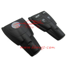 Cheapest price SAAB 9-3 car 4 button remote blank car key shell without key blade