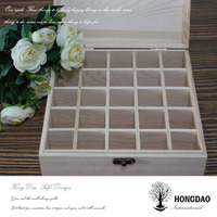 HONGDAO customized wooden essential oil box, customized wooden essential oil box manufacture china