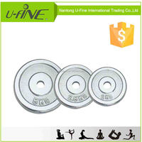 Chrome Barbell Plate