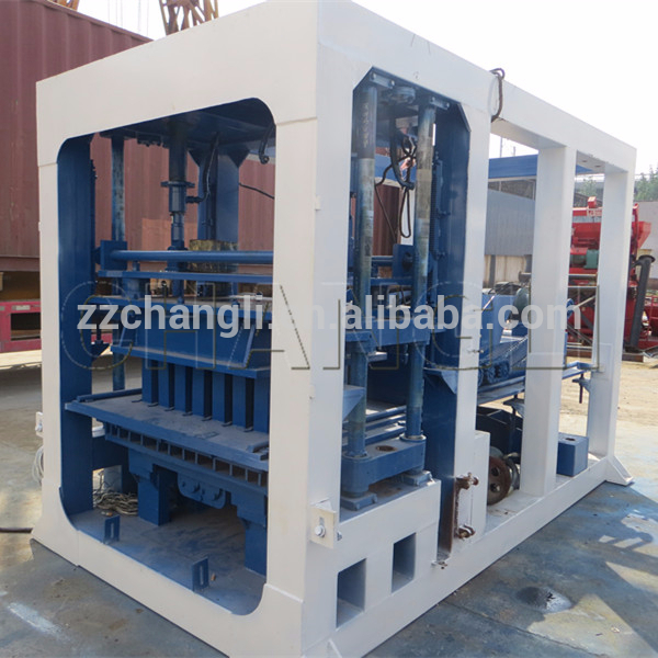 QT4-15 concrete block making machine,QT serious concrete brick making machine eith CE certification