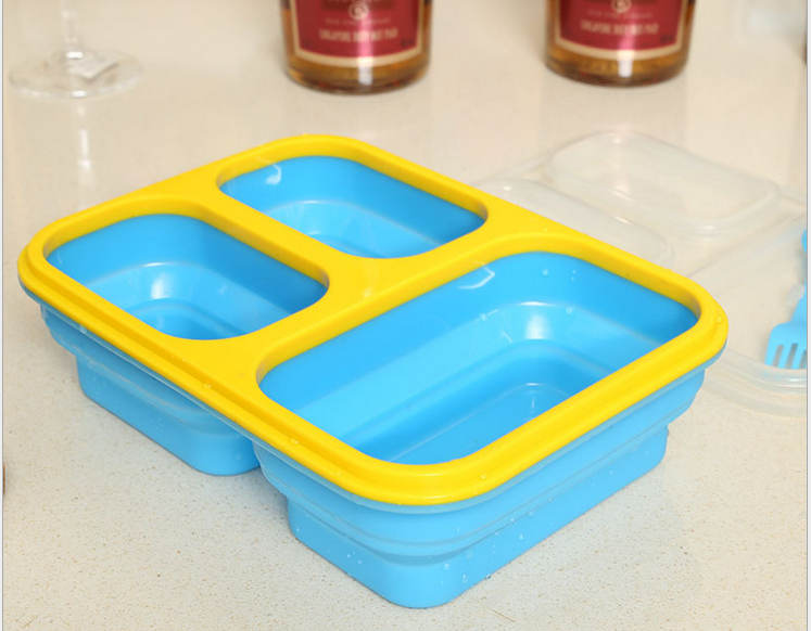 wholesale high quality food grade silicone bento lunch box. Black Bedroom Furniture Sets. Home Design Ideas