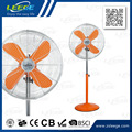 FD-30M 110V/220V colorful metal floor fan with remote control