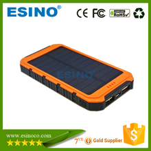 Best Quality Solar Power Bank, Solar Mobile Charger by Esino