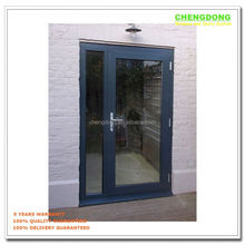 White frame five panels balcony plastic bifold door,plastic door