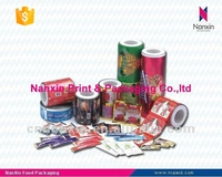 plastic packaging film for food process