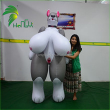 High Quality Customized Hongyi Gient Inflatable Gray Sex Animal Cartoon/ Sexy Girl Inflatable For Sale